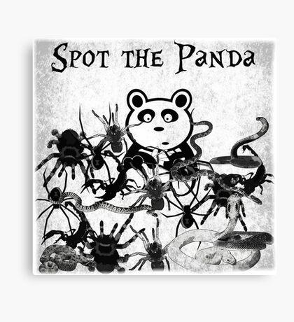 Spot the Panda Canvas Print