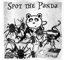 Spot the Panda Poster