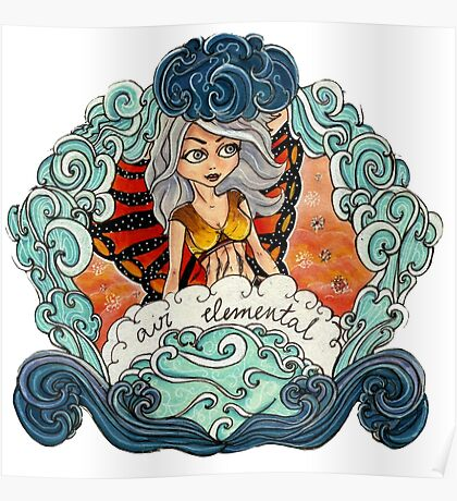 Air Elemental Poster