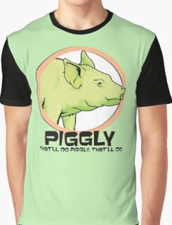Piggly (also known as Piggly 3) Graphic T-Shirt