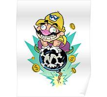 Wario Explosion Poster