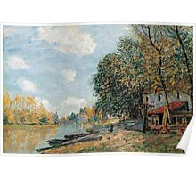 Alfred Sisley - Moret The Banks of the River Loing, 1877 1877 Poster