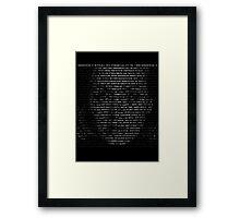 Hello, Adele Framed Print