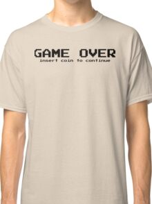 Game over - arcade game Classic T-Shirt