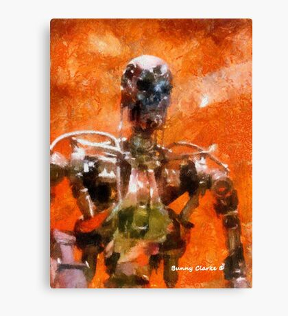 The Terminator Continues Canvas Print