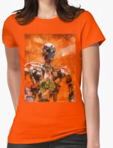 The Terminator Continues Womens Fitted T-Shirt