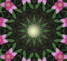 Tulips, Flower mandala, Floral mandala-style Sticker
