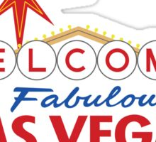 Welcome to Fabulous Las Vegas Sign Sticker