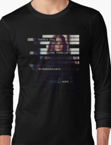 Root - Person of Interes - Quote Long Sleeve T-Shirt