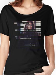 Root - Person of Interes - Quote Women's Relaxed Fit T-Shirt