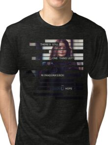 Root - Person of Interes - Quote Tri-blend T-Shirt