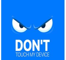 Don't touch  Sticker