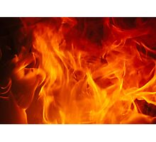 burn Photographic Print