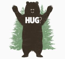 Bear Hug (Reworked) Kids Tee