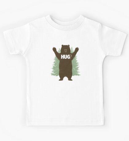 Bear Hug (Reworked) Kids Tee
