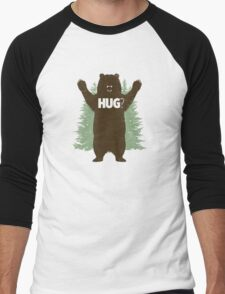 Bear Hug (Reworked) Men's Baseball ¾ T-Shirt