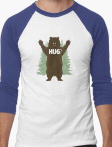 Bear Hug (Reworked) Men's Baseball ¾ T-Shirt