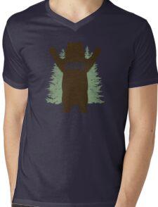 Bear Hug (Reworked) Mens V-Neck T-Shirt