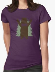 Bear Hug (Reworked) Womens T-Shirt