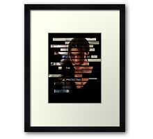 Shaw - Person of interest - Quote Framed Print