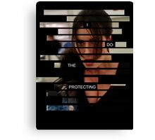 Shaw - Person of interest - Quote Canvas Print