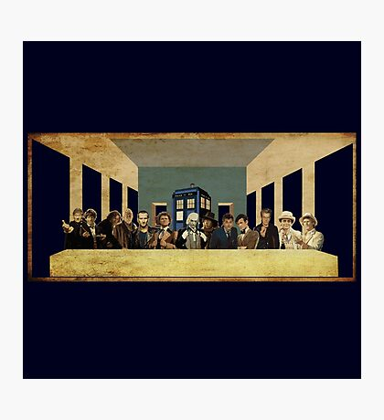 THE DOCTOR'S LAST SUPPER  Photographic Print