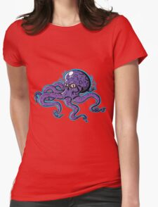 Skull Octopus  Womens Fitted T-Shirt