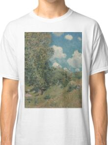 Alfred Sisley - The Road from Versailles to Saint-Germain  French Impressionism Landscape Classic T-Shirt