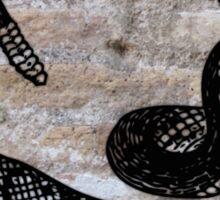 Black Rattlesnake Sticker