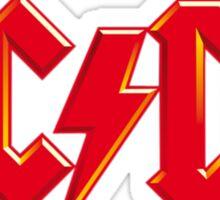 LOGO AC/DC Sticker