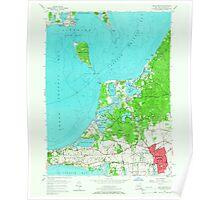 New York NY Southampton 136214 1956 24000 Poster