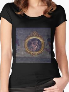 Ghost in the mirror Women's Fitted Scoop T-Shirt