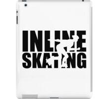 Inline skating iPad Case/Skin