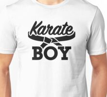 Karate boy Unisex T-Shirt