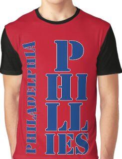 Philadelphia Phillies typography Graphic T-Shirt