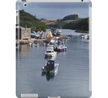 A Row of Boats iPad Case/Skin