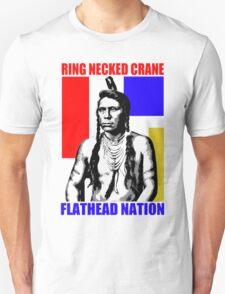 Ring Necked Crane  T-Shirt