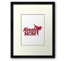 Karate Mom Framed Print