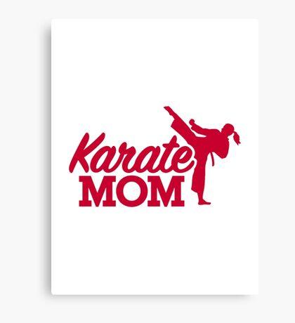 Karate Mom Canvas Print