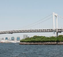 Tokyo Bridge With Island Sticker