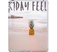 Friday feels iPad Case/Skin