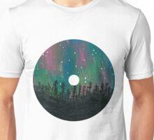 Aurora Borealis CD Design Unisex T-Shirt