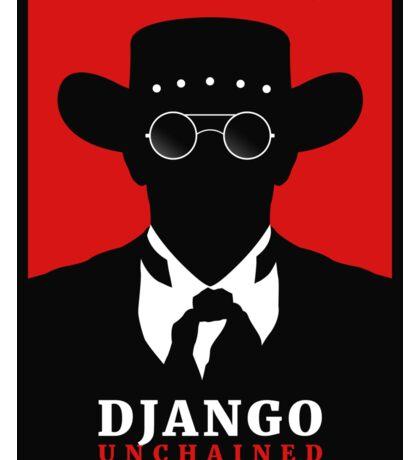 Django Unchained film poster Sticker