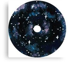 Galaxy CD Design Canvas Print