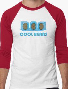 Cool Beans Men's Baseball ¾ T-Shirt