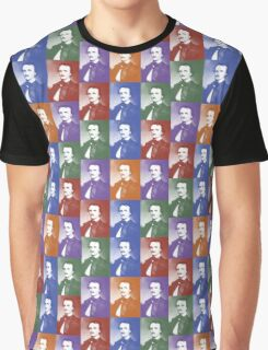 Pop Art Poe Graphic T-Shirt