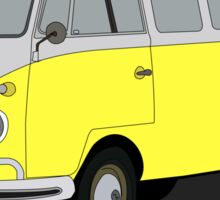 Type 2 T1 microbus yellow Sticker