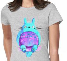 My neighbor Totoro in indigo shades Womens Fitted T-Shirt