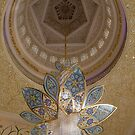 United Arab Emirates. Abu Dhabi. Sheikh Zayed Grand Mosque. Another Swarovski Crystals Chandelier. by vadim19