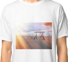 Rockaway Beach Oregon - Spring Sunrays Classic T-Shirt